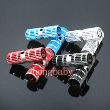 "2pcs New Cycling BMX Bike Bicycle Cylinder Aluminum Alloy 3/8"" Axle Foot Pegs"