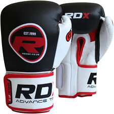 """RDX Weight Lifting 4"""" Leather Belt Back Support Strap Gym Power Fitness Training"""
