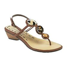 Coconuts by Matisse Womens Boardwalk-Brown Strappy Sandal (See Available Sizes)