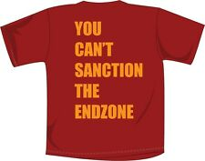 "USC t-shirt ""You Can't Sanction The Endzone"" NCAA Football Apparel Cardinal"