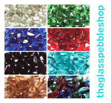100 Glass Gems Pebbles Beads for Florists Vases Weddings Fish Tanks Gardens