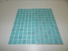 1 BOX (8 SHEETS PER BOX) INTERSTYLE 1x1 4mm WATERWAY DEWDROPS GLASS MOSAIC TILE