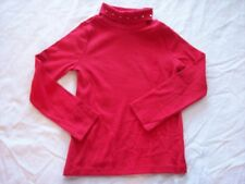 NWT Girl's Gymboree Cozy Cutie red long sleeve turtleneck shirt ~ 4