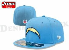 New Era 5950 SAN DIEGO CHARGERS NFL On Field Game Cap Fitted Powder Blue Hat