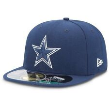 New Era 59FIFTY DALLAS COWBOYS  Official NFL Sideline Cap Fitted Hat Navy 5950