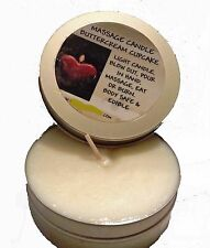 Edible Massage Candle You Choose Flavor - New Flavors