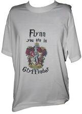 Harry Potter Personalised House T Shirts  FREE P&P L@@K!!