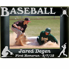 Personalized Metal Youth Baseball Team Picture Photo Frames 4x6 5x7 8x10 Custom
