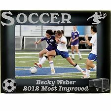 Boys Girls Soccer Personalized Photo Picture Frames 4x6 5x7 8x10 Custom Engraved
