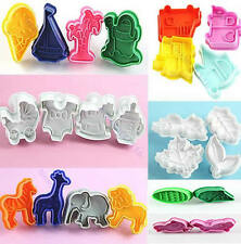 Fashion Design Cute Cutter Fondant Cake Mold Sugarcraft Craft Modelling Tools