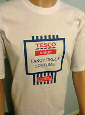 Tesco Value Funny Fancy Dress Costume, parody / spoof T-Shirt,  Men Ladies
