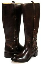 Women's Charlie 1 Horse By Lucchese Mahogany Brown English Riding Boots I4672