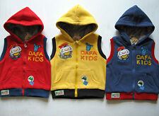 Kids Childrens Boys Winter jacket Cute Hoodie sz 18-24 Months-3 t-4-5-06 Years