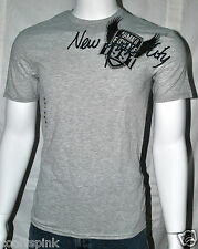 Armani Exchange T Shirt Mens Muscle Eagle NYC Gray S M L
