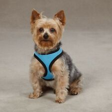Casual Canine PASTEL Soft Mesh Dog Harness Collar XS-XL Sky Blue