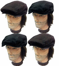 IVY Newsboy Duckbill Cabbie Golf Driving Cap and Hat / Fur Style