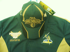 NRL MELBOURNE STORM Polo Shirt 2012 Premiers with matching FREE CAP!  -NEW!