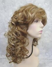 Long Soft Super Curly Layered Natural Movement Synthetic Wig Wigs - #018