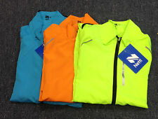 Netti cycling jacket hub mens long sleeved turquoise,orange or yellow