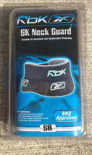 RBK 6k NECK GUARD ADJUSTABLE JUNIOR & ADULT SIZES AVAILABLE