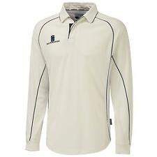 New SURRIDGE Mens Premier Long Sleeve Cricket Shirt in 3 Colours 5 Sizes
