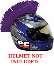 Helmet Purple Mohawks PC Racing All Colors Interchangable Mohawk