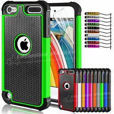 Shock Proof CASE COVER per Apple iPod Touch 5 5th Gen 5G PROTEGGI schermo gratuito