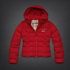 Hollister by Abercrombie & Fitch Women's Red Paradise Cove Sherpa Coat NWT!!
