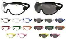 NEW- KROOPS XC Racing Cross Country Eventing Goggles| Clear + Tinted Lenses