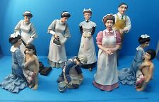 12th scale handmade resin dolls victorian domestics 8 scenes to select from