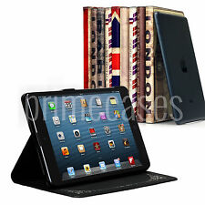 RETRO VINTAGE SMART PU LEATHER CASE COVER WITH STAND FOR APPLE IPAD MINI