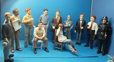 dolls house miniature 1:12 scale resin dolls  11 various male characters