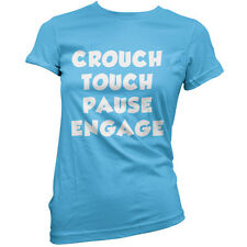Crouch touch pause Engage  - Womens / Ladies T-Shirt / Rugby union - 11 Colours