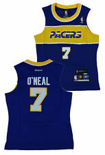 NBA Basketball Women's Indiana Pacers Jermaine O'Neal # 7 Throwback Jersey