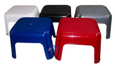 Child Adult Large Strong Plastic Kitchen Step Up Stool With Rubber Stop Feet