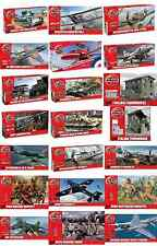 AIRFIX Kit 1:72 and 1:76 Various military planes vehicles Plastic Model Kits