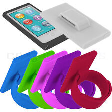 Watchband Wristband Soft Silicone Skin Case For Apple iPod Nano 7 7th Generation