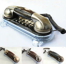 Novelty Vintage Retro Antique Classic Old Style Corded Telephone Wall Phone Home