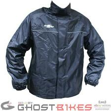ROXTER MOTORCYCLE BIKE SCOOTER 100% WATERPROOF UNLINED RAIN OVER COAT TOP JACKET