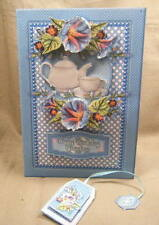 Handmade Greeting Card - Time For Tea - Morning Glory - Multi Occassion Card