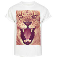LION ROAR SWAG HIPSTER CAT DOPE TSHIRT HYPE TUMBLR STREET T SHIRTS FASHION TOP