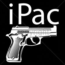 Gun Control Tshirt iPac Pistol Handgun 2nd Amendment Rights 9mm Firearm Packing