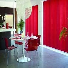 VERTICAL BLINDS MADE TO MEASURE 89MM  RED AND PINK AND PURPLE  CHEAPEST ON EBAY