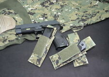 A-Two Tactical Gear Single 9mm Mag Pouch AOR1 AOR2 Navy Seals Pistol Magazine
