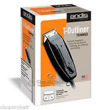 Andis T-Outliner Trimmer Barber Hair Edgers in Black 04770 GTO same as 04710 NEW