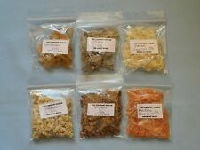 Gums and Resins for Witchcraft CHOOSE FROM 6 different Resins in 20gram packs
