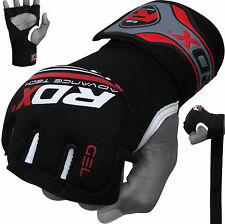 RDX GEL Hand Wraps Grappling Gloves MMA,Boxing Mexican Punch Bag Muay Thai US