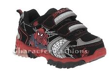 SPIDERMAN Boys 7 8 9 10 Athletic Sneakers Shoes SPIDER-MAN MARVEL