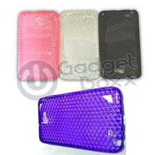 HYDRO GEL RUBBER STYLISH CASE COVER SAMSUNG NOTE N7000 I9220 IN VARIOUS COLOURS