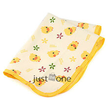 New Baby Infant Cute Lovely Cotton Waterproof Urine Mat Burp Changing Pad Cover